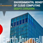 Environmental benefits of cloud computing