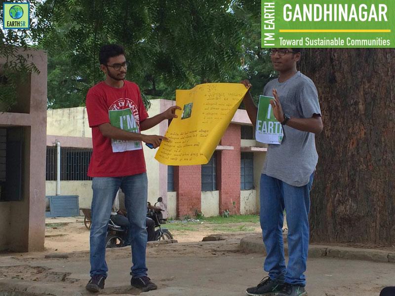 Gandhinagar social work Earth5R