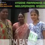 Hygiene awareness drive at Neelsasandra Bangalore by Earth5R