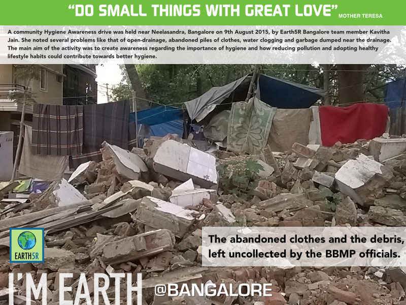 Hygiene-awareness-drive-Neelsasandra-Bangalore-by-garbage-Earth5R