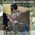 Clean-up drive at Katraj Pune by Earth5R
