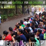 Cleanup drive and EarthTalk for 622 children at Thane