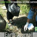 Clean-up drive at Baner Hill in Pune