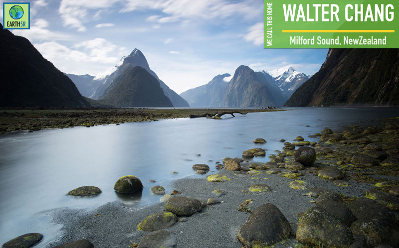 Walter Chang Milford Sound New Zealand Earth5R