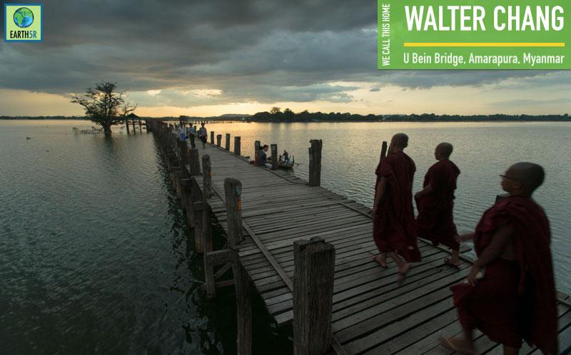 Walter Chang U Bein Bridge Amarapura Myanmar Earth5R