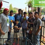 CLEAN-UP ACTIVITY AT HAPPY STREETS IN THANE BY EARTH5R