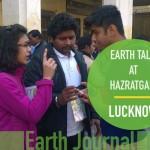 Earth Talk At Hazratganj, Lucknow