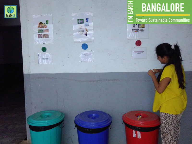 Waste Segregation Activity At Surakshaa Fairview