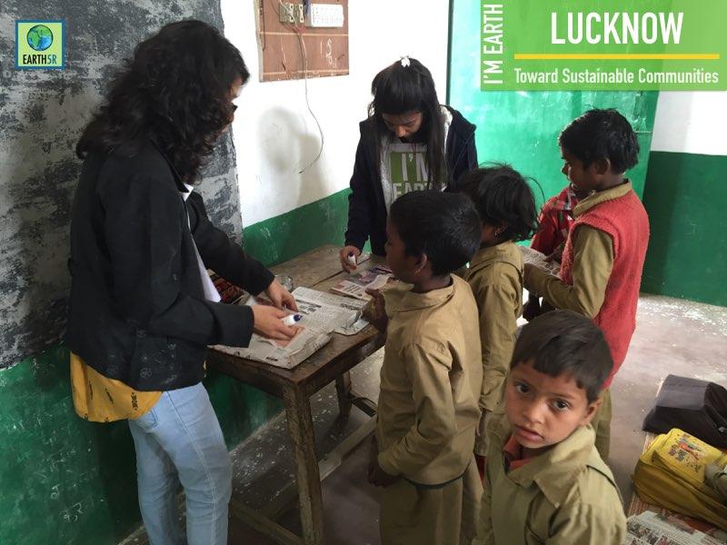 Environmental Awareness & Upcycling of Clothes at a Village School