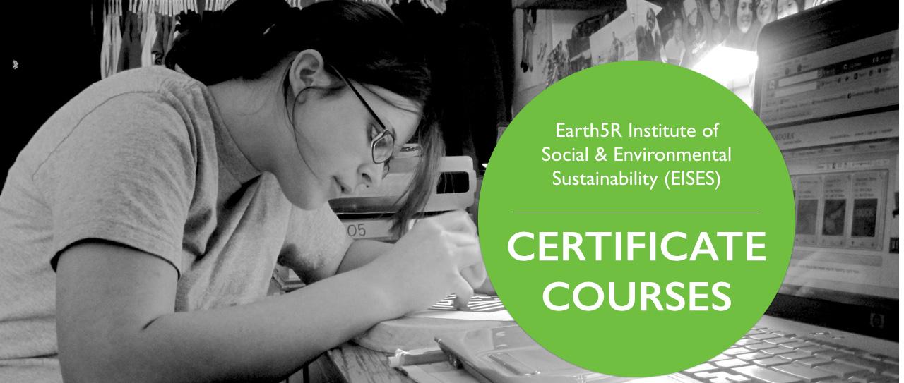 Environmental Sustainability Social Entrepreneurship Course Earth5R EISES