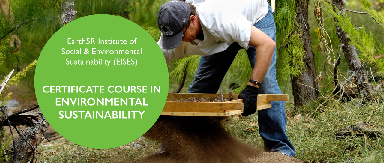 Online Course in Environmental Sustainability Earth5R