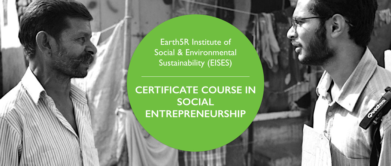 Online Course in Social Entrepreneurship Earth5R