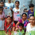 Paper and Clothes Upcycling workshop at Meghdhoot, Kanpur
