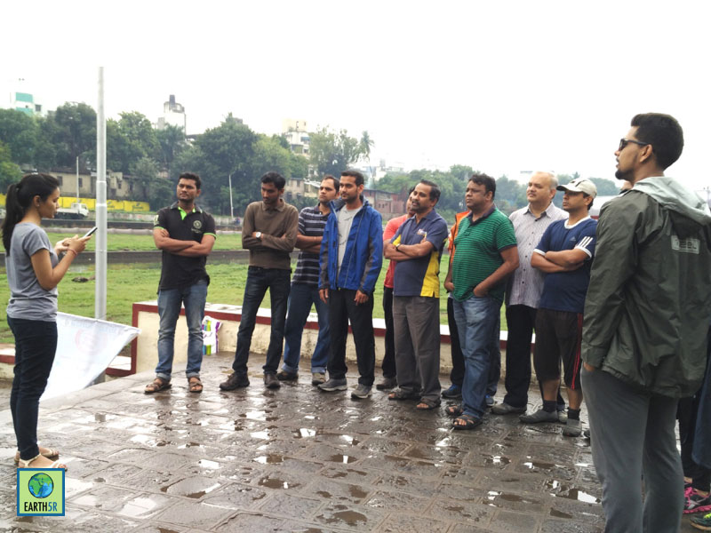 Mula Mutha River Cleanup Pune Hexaware CSR 8 Earth5R