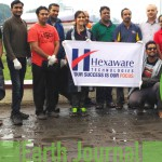 Cleanup at Mula Mutha River, Pune by Hexaware Technologies