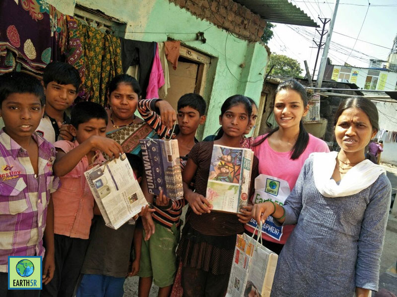 Pune Environmentalist Earth5R CSR Upcycling Sonam Sengar