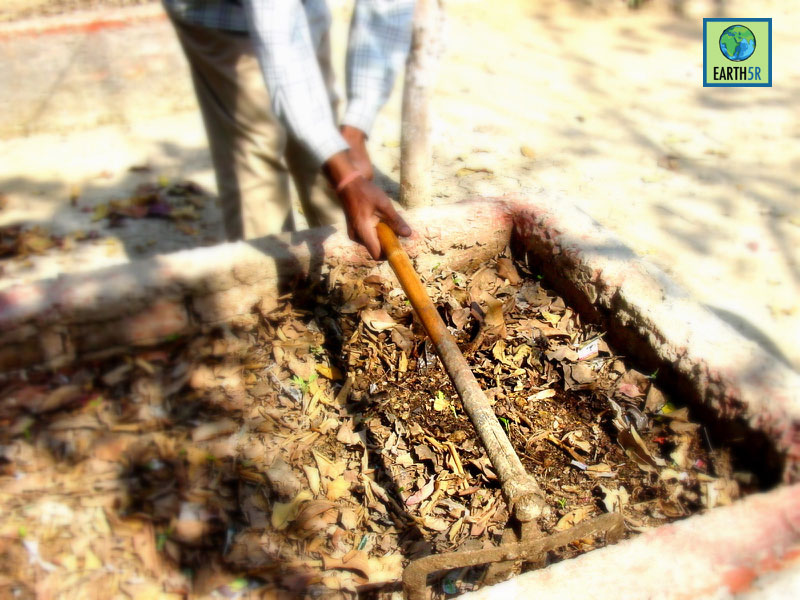 Composting at Chennai by Earth5R