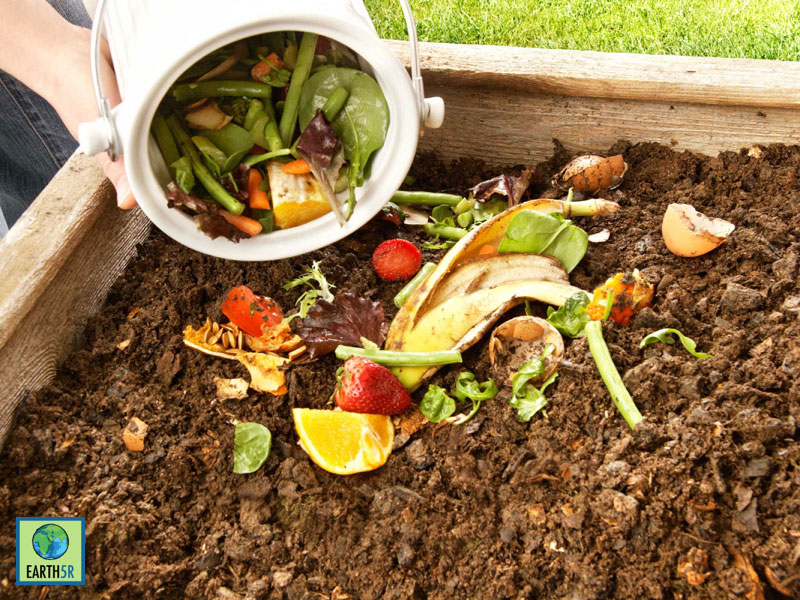Composting at Delhi by Earth5R