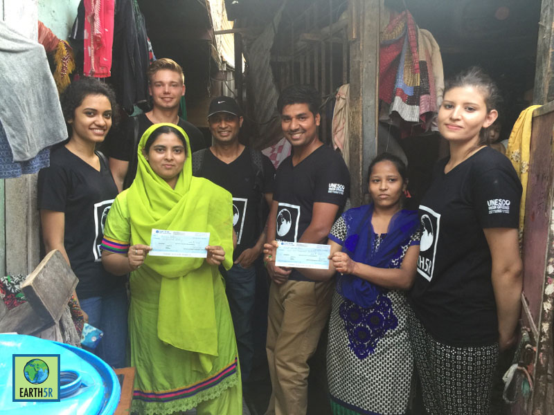 Almug paper bag project CSR Earth5R