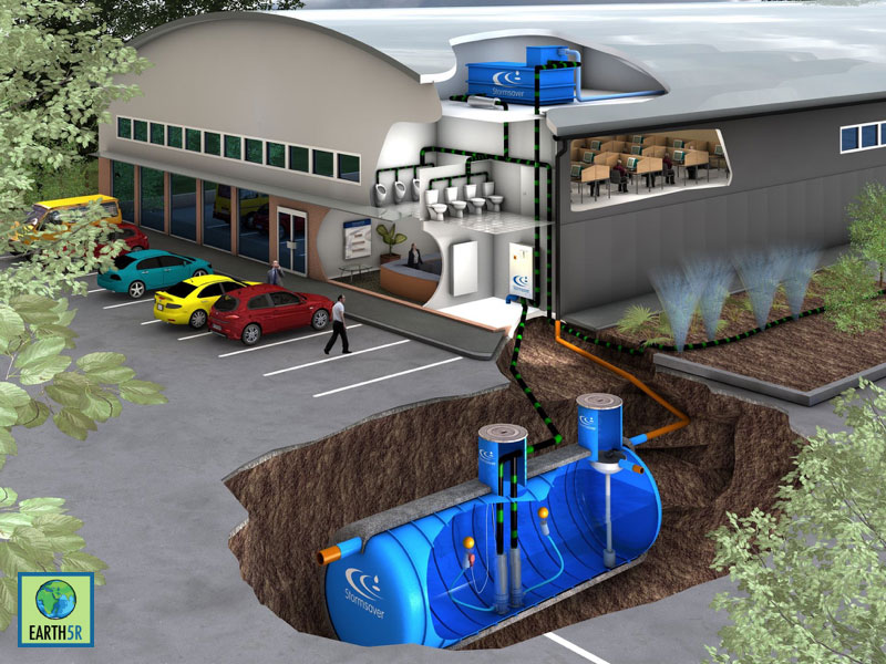 Rain water harvesting workshop at pune earth5r for Rainwater harvesting at home
