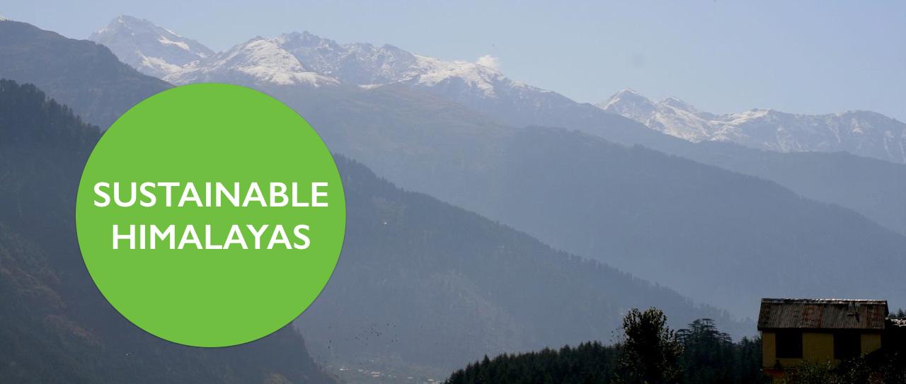 Sustainable Himalaya Earth5R CSR
