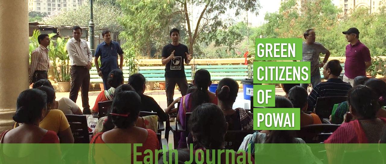Earth5R Powai Composting Waste Management Saurabh Gupta
