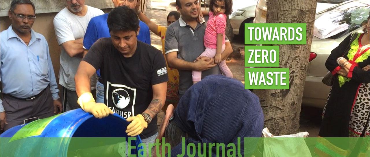 Composting Mumbai Waste Management SDG Earth5R Saurabh Gupta
