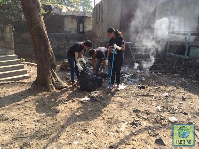 Shriyam Jalan Sonam Sengar Madhavi Ninganur Pune Mumbai Environmental Organisation Earth5R