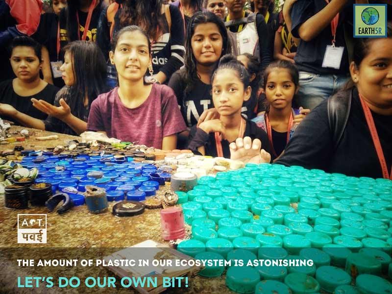 Mumbai Plantation Environmental Organisation Saurabh Gupta Volunteering EPR Recycling