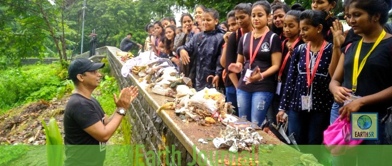 Powai Plantation Mumbai Environmental Organisation Saurabh Gupta Environmentalist Recycling Composting