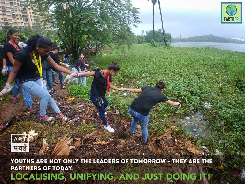 Powai Plantation Mumbai Environmental Organisation Saurabh Gupta Volunteering Internship