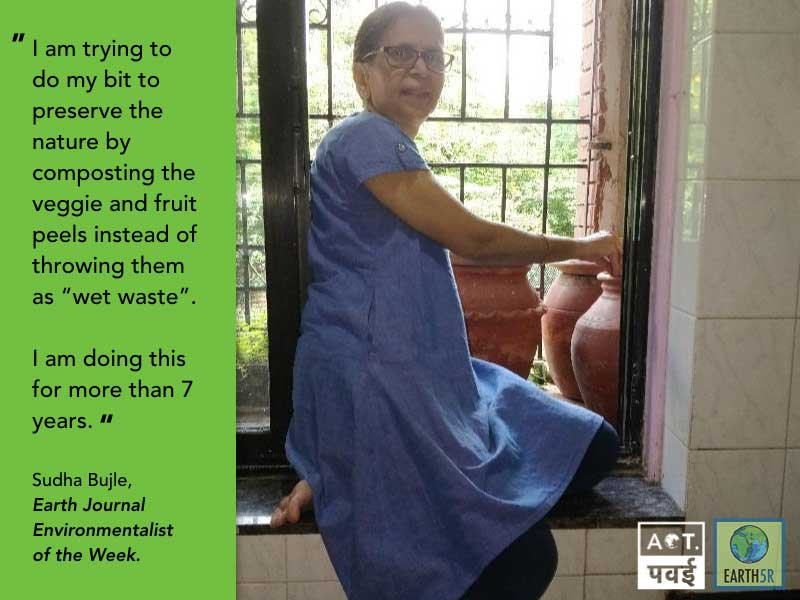 Sudha-Bhujle-ACT-Powai-Mumbai-Environmentalist-Earth5R-Waste-Management-Recycling-10