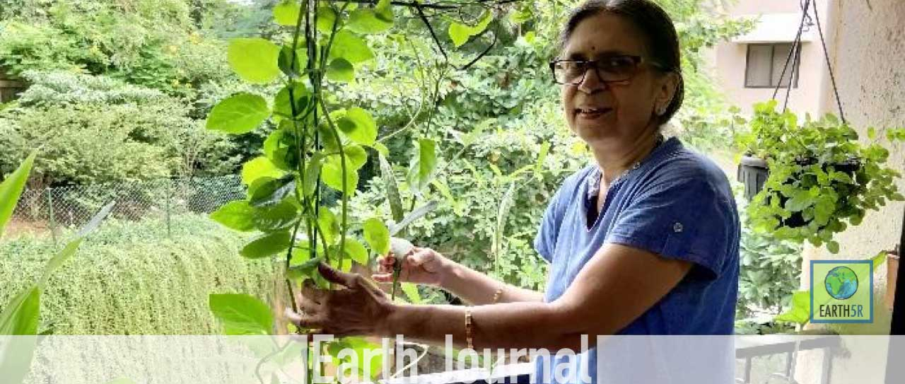 Sudha Bhujle ACT Powai Mumbai Environmentalist Earth5R Waste Management Recycling
