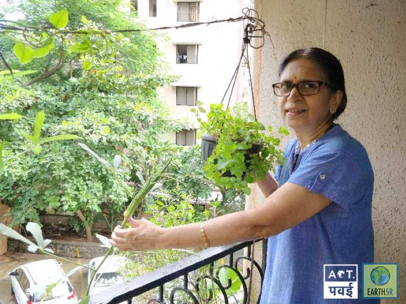 Sudha-Bhujle-ACT-Powai-Mumbai-Environmentalist-Earth5R-Waste-Management-Recycling
