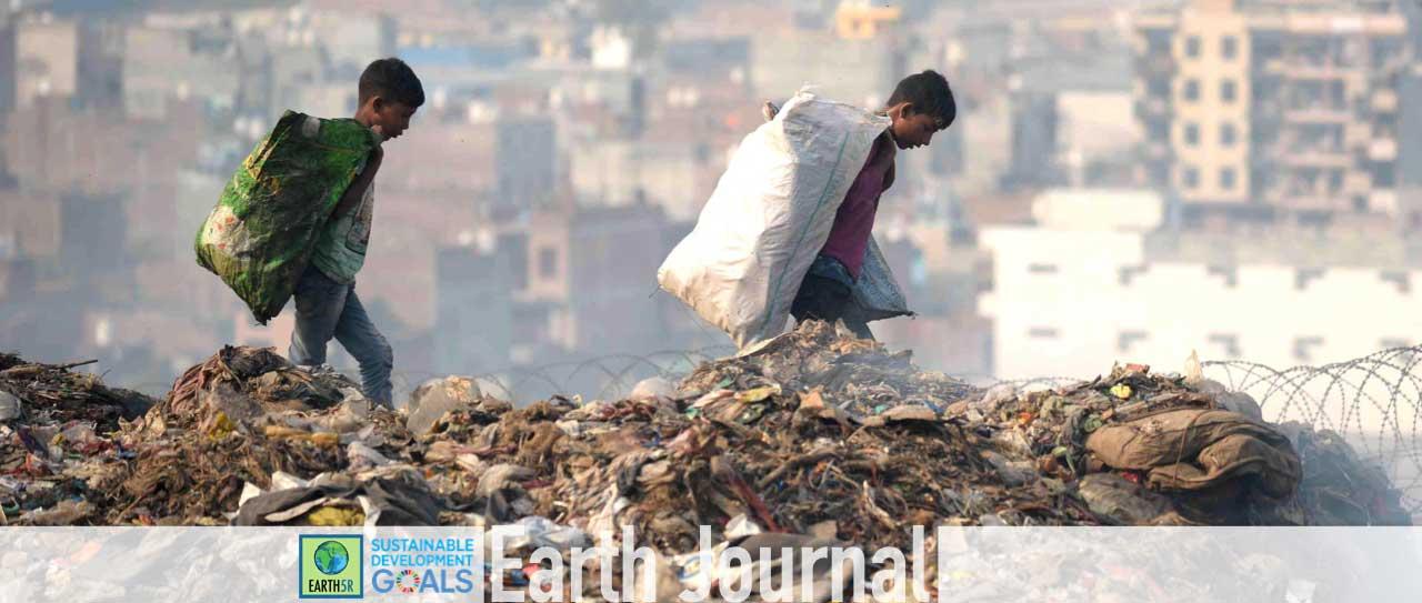 Ragpicker - Landfill - Garbage - Kids - Plastic - Recyclables
