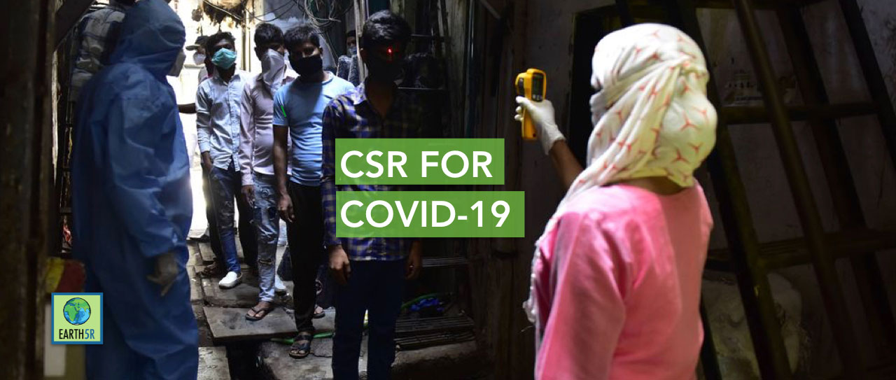 Coronavirus COVID-19 Sustainability corporate social responsibility CSR NGO Earth5R Mumbai India