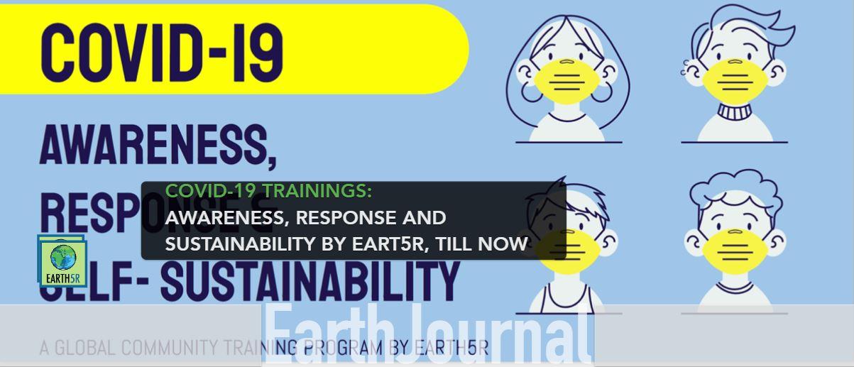 COVID-19 Coronavirus Sustainability Training CSR Corporate Social Responsibility NGO Earth5R Mumbai India