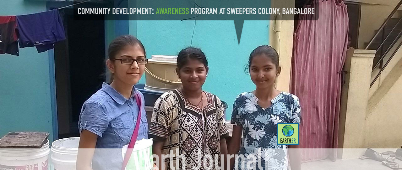 Community Development at Sweepers colony, Bangalore by Earth5R.jpg