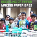Recycling paper with the preteens of Mumbai by Earth5R
