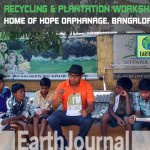 Recycling & plantation workshop at Home of Hope Orphanage, Bangalore by Earth5R