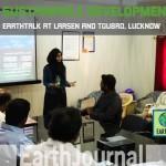 Sustainable development: Lucknow Earth Talk  at Larsen & Toubro