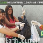 A Cleaner Delhi: Cleanliness Drive at Connaught Place Delhi by Earth5R
