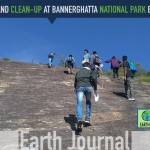 Nature trail and clean-up at Bannerghatta National Park Bangalore