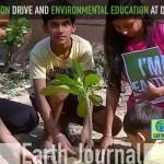 Plantation drive and environmental education at Delhi by Earth5R