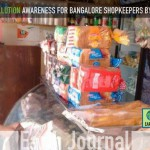 Educating Bangalore shopkeepers on Plastic Pollution by Earth5R