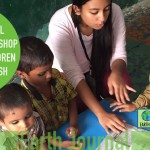 Environmental awareness  for children of  Hausamau Village Lucknow