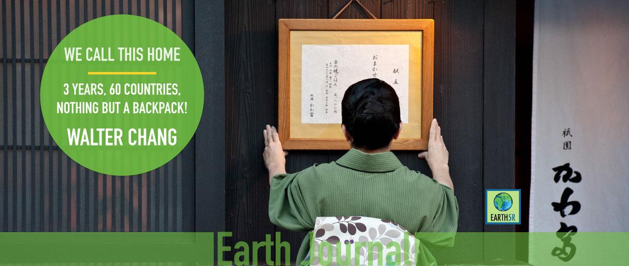 Walter Chang Traveler Kyoto Japan Earth5R