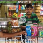 Waste management awareness at Pondicherry by Earth5R