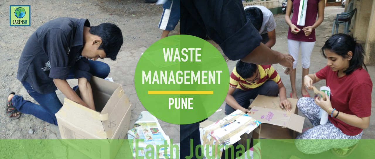 Waste management at Pune by Earth5r