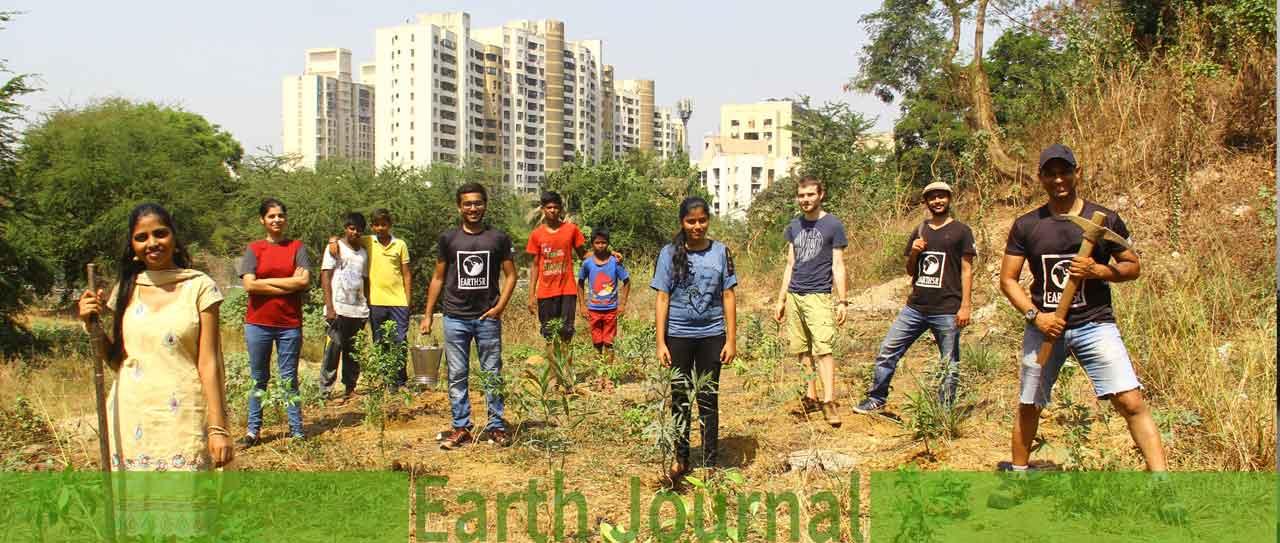 Powai Plantation Mumbai Environmental Organisation NGO CSR Earth5R